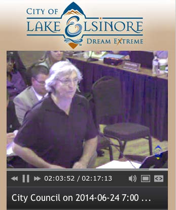 Lake Elsinore City Council